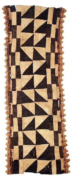 Kuba bark cloth used in African dances: Ethnic Patterns, Textile Patterns, Textile Design, Japanese Patterns, Floral Patterns, African Patterns, African Textiles, African Fabric, Peruvian Textiles