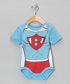 Love this Wild Child Light Blue Super Baby Bodysuit - Infant by Wild Child on #zulily! #zulilyfinds