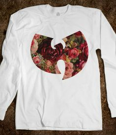 Wu-Tang Clan Floral #wutang #music #hiphop #dope #swag #floral #roses #winter #red #fashion