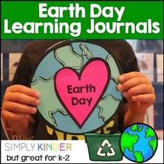 Earth Day book loaded with ideas to keep our Earth clean! Spring School, School Fun, School Ideas, School Stuff, Earth Day Song, Teachers Pay Teachers Freebies, Teaching Calendar, Earth Day Crafts, Picture Writing Prompts