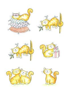 Vector cats