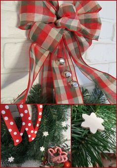 Krylon Mystery Box project! Whimsical monogrammed wreath