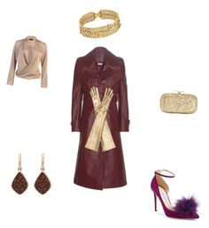 """""""golden night"""" by yummycaramel on Polyvore featuring Vetements, Jimmy Choo, Chanel, H.Azeem, INC International Concepts and Gucci"""
