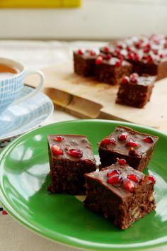 Vegane Zuckerfreie Easy Peasy Brownies