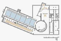 Sayamaike Historical Museum Plan Drawing courtesy Tadao Ando