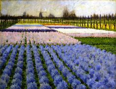 George Hitchcock: Holland, Hyacinth Garden