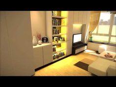 Studio type condominium unit (Martin Place)