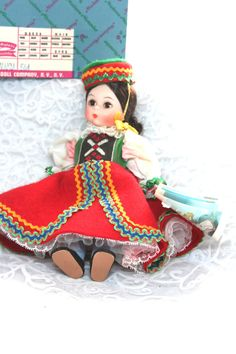 Vintage Madame Alexander 8 Doll CzechosIovakia by HuldasTreasures