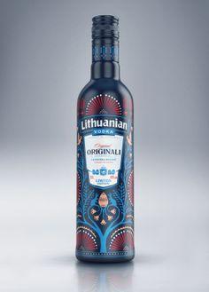 Edición limitada de Vodka de Lituania por Aurimas Sandaris