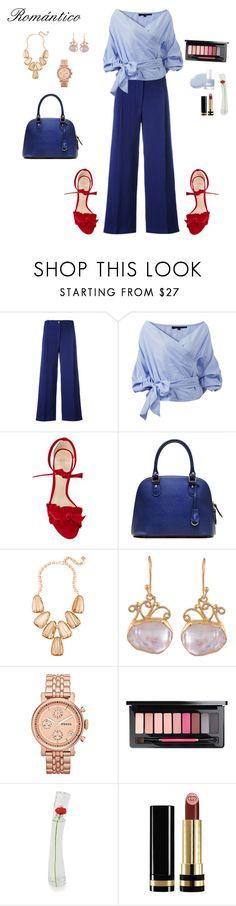 """Sweet Blue"" by arimacias on Polyvore featuring moda, Erika Cavallini Semi-Couture, Alexandre Birman, Kendra Scott, FOSSIL, Kenzo, Gucci, WhatToWear, springlook y WomenLook"