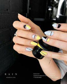 Ideas For Nails Yellow Design Nailart – Adela Davis Ideas For Nails Yellow Design Nailart 23 Great Yellow Nail Art Designs 2019 1 Yellow Nails Design, Yellow Nail Art, Splatter Nails, Nailart, Nails Polish, Minimalist Nails, Nail Swag, Super Nails, Perfect Nails