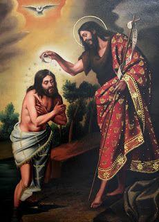 Bautismo de NS Jesucristo en el Jordán