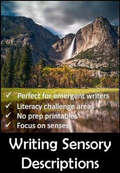 Writing Sensory Descriptions - Activity Workbook and Posters by PollyPuddleduck - Teaching Resources - Tes Teaching Posters, Teaching Resources, Key Stage 1, Literacy, Encouragement, Challenges, Product Description, Child Friendly, Activities