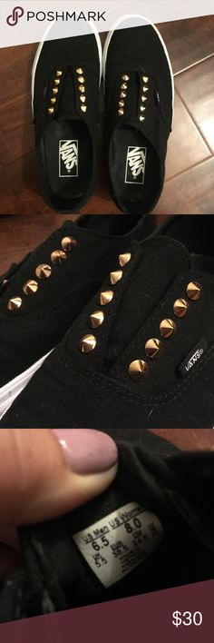 studded Vans shoes authentic Gore Shoes from Vans, womens 8 . worn once, great condition Vans Shoes Sneakers