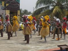 Traditional Dancers from Liberia. Even in sadness, you can find a bit of joy. We want to help create more joy in Liberia.