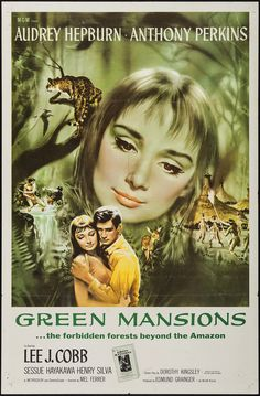 "Green Mansions (MGM, 1959). One Sheet (27"" X 41"")."