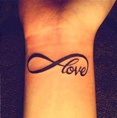Infinity Tattoo- Love Tattoos