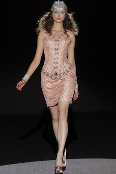 Sonia Peña vestidos de fiesta 2015 color nude. Disponible en: www.boutiqueclara.com