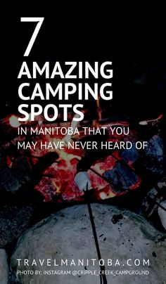 7 amazing camping spots in Manitoba that you may have never heard of Camping Places, Camping Spots, Camping Stuff, Riding Mountain National Park, Visit Canada, Canada Eh, Canada Summer, Northern Lights Tours, Canada Destinations