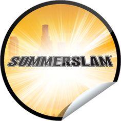 WWE SummerSlam Countdown: 3 Days to Go! Sticker