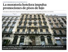 La moratoria hotelera impulsa promociones de pisos de lujo / @LaVanguardia | #socialcities
