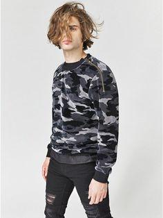 GUESS Men's Fulham Camo Sweatshirt