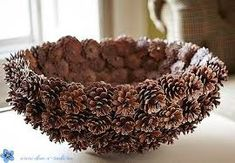 DIY Pine Cone Heart - Pine Cones are a great material for wreaths. Online source and sale of pine cones and pine needles. Pine cones for crafts, art and decor. Heart Shaped Pine Cone Wreath Rustic decor Wreath by F Pine Cone Art, Pine Cone Crafts, Pine Cones, Fall Crafts, Crafts To Make, Home Crafts, Arts And Crafts, Nature Crafts, Home Craft Ideas