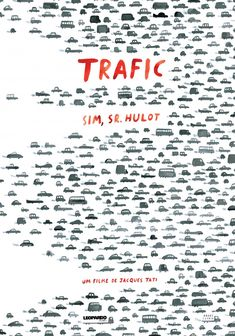 Jacques Tati's Trafic movie poster | ©André Letria