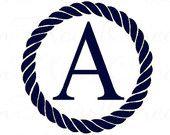 nautical monograms - Google Search