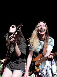 Absolute favorite picture of Haim's oldest sisters.
