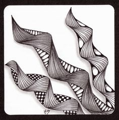in the arms of the angles Zentangle Drawings, Doodles Zentangles, Art Drawings Sketches, Zentangle Patterns, Cool Drawings, Pencil Drawings, Zen Doodle, Doodle Art, Tangle Art