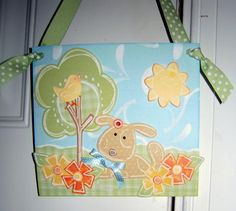 Door Hanger Puppy by Barbara - Projects & Gift Ideas - Gallery - Lasting Impressions Community