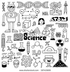 Similar Images, Stock Photos & Vectors of Science Icons Set 177307922 is part of Science doodles - Find Science Icons Set Stock Images in HD and millions of other royalty free stock photos, illustrations, and vectors in the Shutterstock collection Science Doodles, Science Icons, Science Art, Science Graph, Science Quotes, Earth Science, Science Experiments, Doodle 2, Doodle Drawings