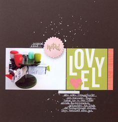 Layout mit dem #dpNovemberkit14 von Nina Menden für www.danipeuss.de | American Crafts | Crate Paper