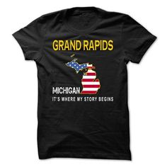 GRAND RAPIDS - Its Where My Story Begins - #creative tshirt #college hoodie. CHECK PRICE => https://www.sunfrog.com/States/GRAND-RAPIDS--Its-Where-My-Story-Begins-lqbgw.html?68278