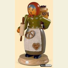 Smokers Professions Smoker Gingerbread Salesman - 25cm / 10 inch