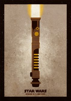 Star Wars Minimal Movie poster by Mihaly Toth