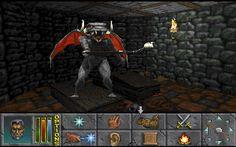 Elder Scrolls II: Daggerfall First-Person [Raytraced], 2D graphics.