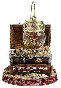 Pirates of the Caribbean Ornament Snowglobe
