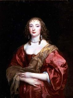 VAN DYCK Sir Antoon van Dyck - Flemish (Antwerpen 1599-1641 Londen) ~ 1639 Anne Carr, Countess of Bedford / Tokyo Fuji Art Museum