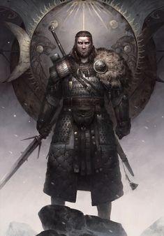 Viking Character, Character Concept, Character Art, Concept Art, Character Ideas, The Witcher, Witcher Art, Dnd Characters, Fantasy Characters