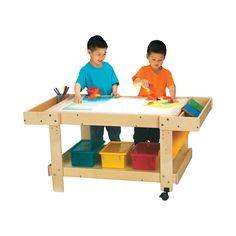 "Amazon.com: Jonti-Craft 58504JC, Creative Caddie - Light - 42"" Length: Toys & Games"