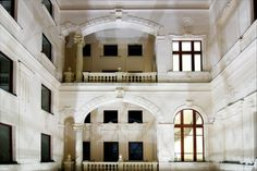 Palazzo Zichy, Budapest...View from the top of the atrium