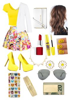 """feeling bright today"" by purplemist23 ❤ liked on Polyvore"