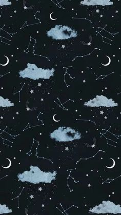 Trend iphone Wallpaper - Moon and Stars Wallpaper In my opinion, it is a . Tumblr Wallpaper, Iphone Live Wallpaper, Moon And Stars Wallpaper, Night Sky Wallpaper, Star Wallpaper, Trendy Wallpaper, Cute Wallpaper Backgrounds, Cellphone Wallpaper, Galaxy Wallpaper