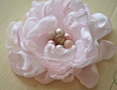 The Polka Dot Closet: How to Make a Fabric Flower