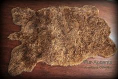 AmazonSmile : Fur Accents Buffalo Rug Thick Faux Fur Pelt Rug Americana Collection Designer Area Carpet 5'x8'  $200 + $30 shipping