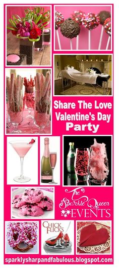 SHARE THE LOVE {VALENTINE'S DAY PARTY} - pretty ideas