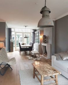The Best 2019 Interior Design Trends - Interior Design Ideas Living Dining Room, Home And Living, House Interior, Home Living Room, Home, Interior Design Living Room, Interior, Home Deco, Home Decor
