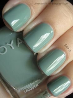 Goose's Glitter: Zoya's Bevin - one of my new polishes from the recent Zoya sale